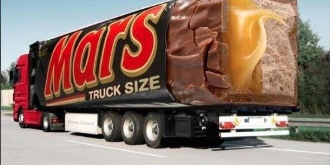 15 mind-blowing advertisements spotted on vehicles.