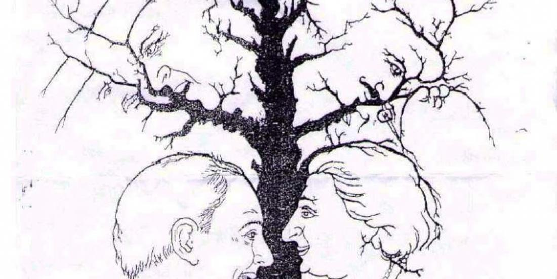 How many faces do you see in this picture?