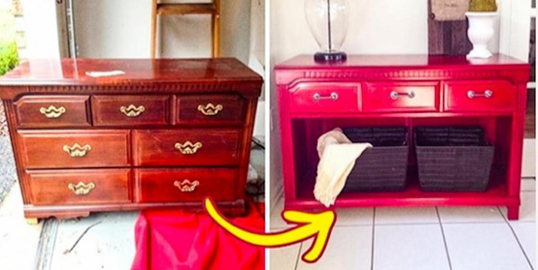 15 beautifully transformed pieces of furniture.