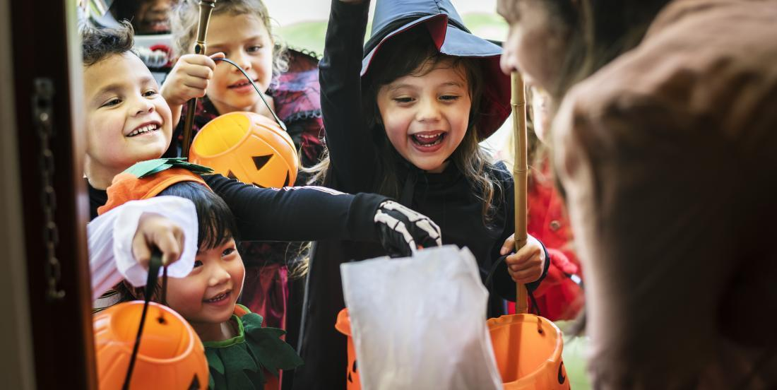 What should be the age limit to go trick-or-treating on Halloween?